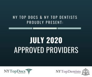 NY Top Docs Proudly Presents July 2020 Approved Providers